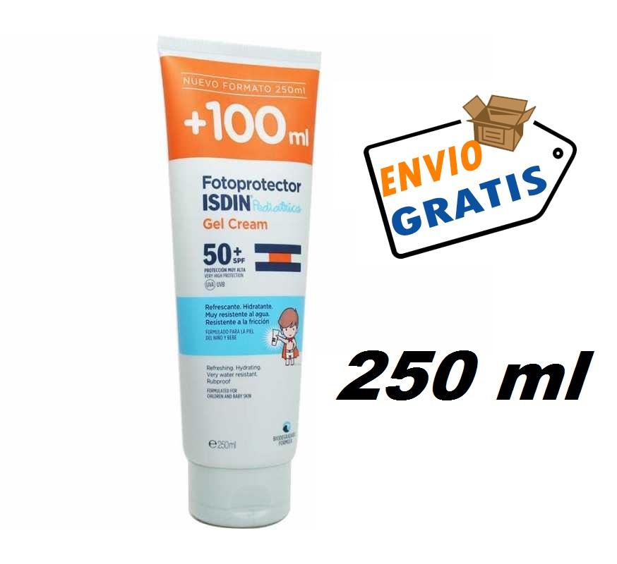 FOTOPROTECTOR ISDIN SPF50+ PEDIATRIC GEL CREMA 250ML