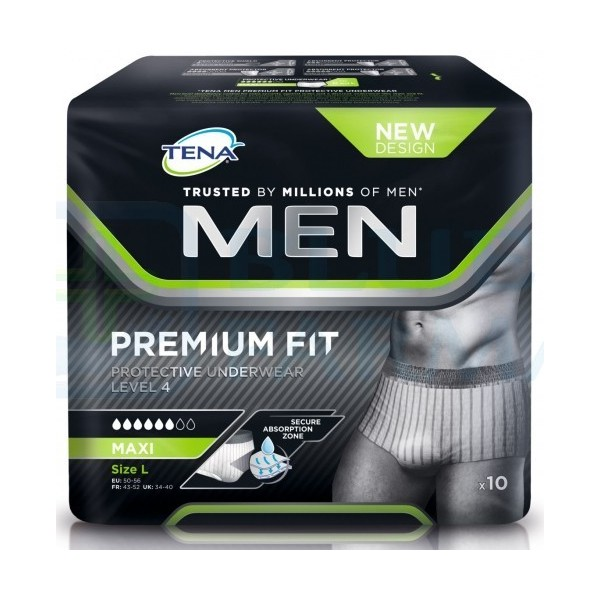 Tena Men Level 4 Protective Underwear Talla L 10 Unidades