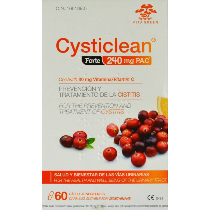 Cysticlean Forte 240mg Pac 60 Capsulas
