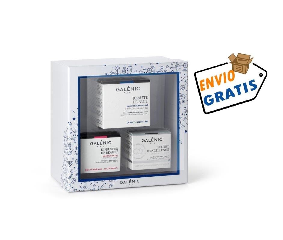 GALENIC PACK BEAUTE DE NUIT 50 ML+SECRET D'EXCELLENCE 15ML+DIFFUSEUR DE BEAUTÉ 15 ML