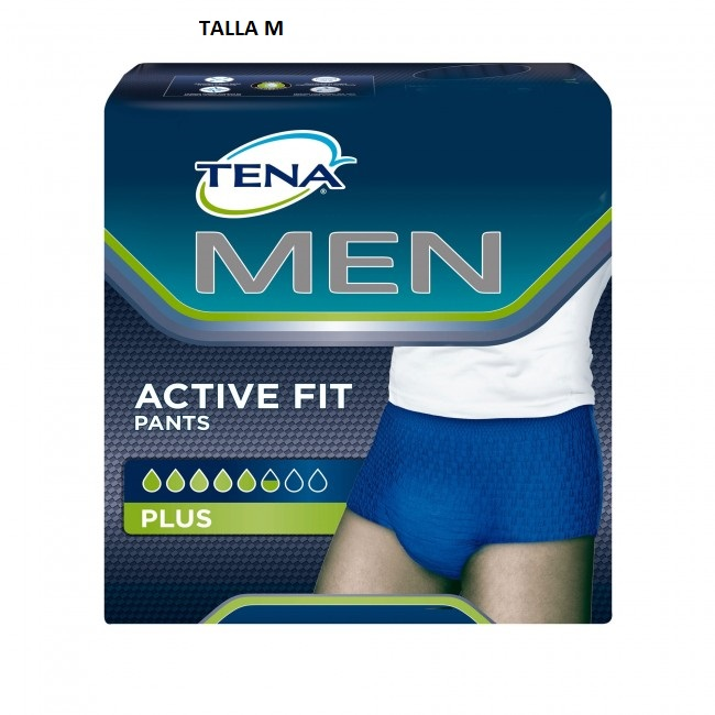 Tena Men Active Fit Pants Talla M 9 Uds