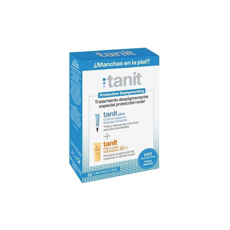 TANIT  TRATAMIENTO DESPIGMENTANTE  CREMA 15 ML + FILTRO SOLAR SPF 50+ 50 ML
