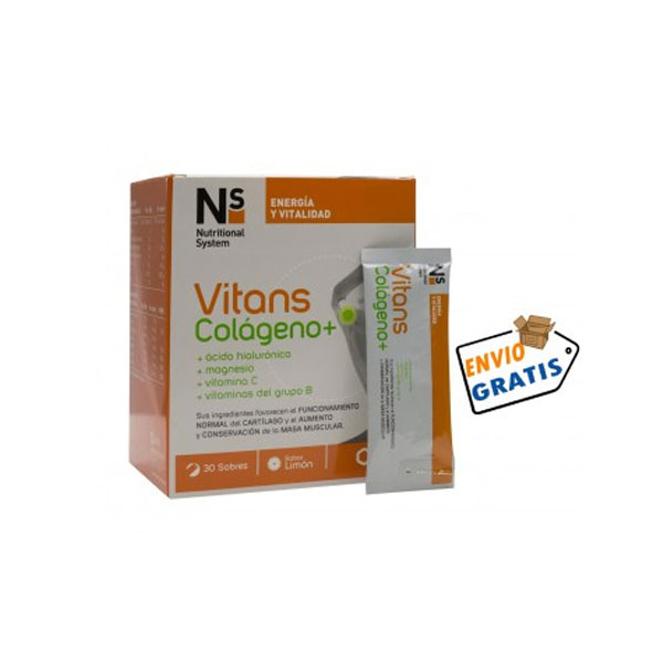 NS Vitans Colágeno+ 30 Sobres