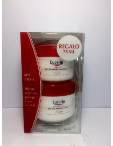 EUCERIN pH5 CREMA PIEL SENSIBLE 100 ML+75ML REGALO