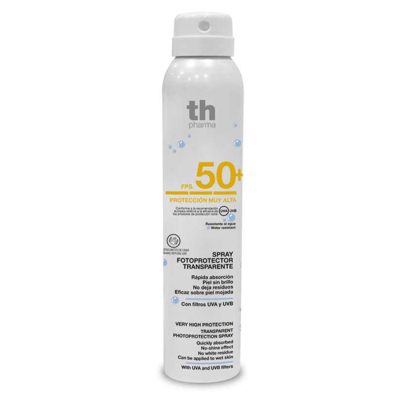 FOTOPROTECTOR TH PHARMA SPRAY TRANSP 50+ 250ML