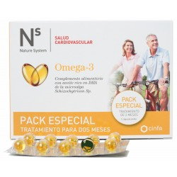 NS PACK ESPECIAL 2 MESES OMEGA3 (60 CAPS)