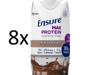ENSURE MAX PROTEIN CHOCOLATE 330ML 8 UNIDADES